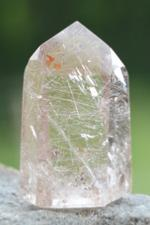 Rutilated Quartz Crystal Dow