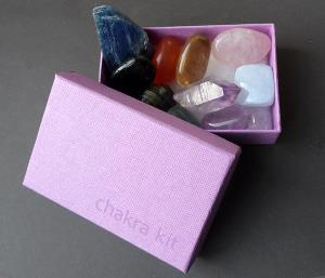 Chakra Kit with Brandberg Quartz - SPECIAL OFFER!