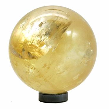 Golden Calcite Rainbow Sphere - SPECIAL OFFER!