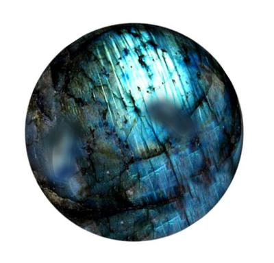 Blue Flash Labradorite Sphere