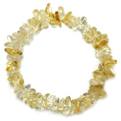 Tumbled Natural Citrine Bracelet