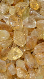 Tumbled Natural Congo Citrine - Kundalini Quartz - Small -- SPECIAL OFFER