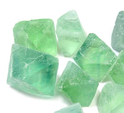 Green Fluorite Natural Octahedron  - SPECIAL OFFER