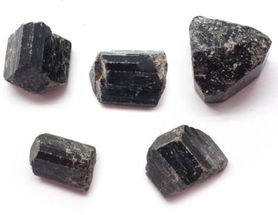 Black Tourmaline Natural Crystals - Medium