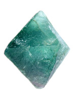 Green Fluorite Natural Octahedron  - Large - SPECIAL OFFER