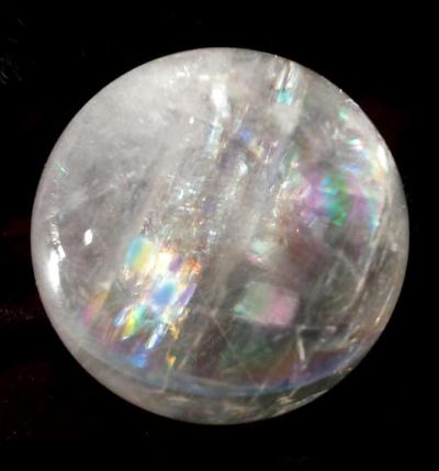 Icelandic Spa Calcite Rainbow Sphere