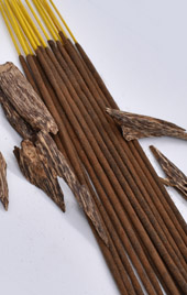 Organic Agarwood Incense Sticks - Double Strength Temple Grade