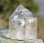Quartz with Chlorite and Rainbows