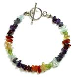 Chakra Bracelet with Toggle
