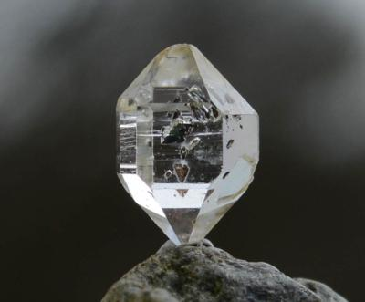 Golden Enhydro Herkimer Diamond Quartz