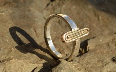 Handmade Gold & Silver Ring